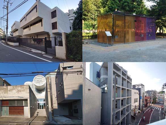 代々木八幡の名建築