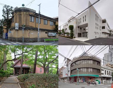 荻窪の有名建築