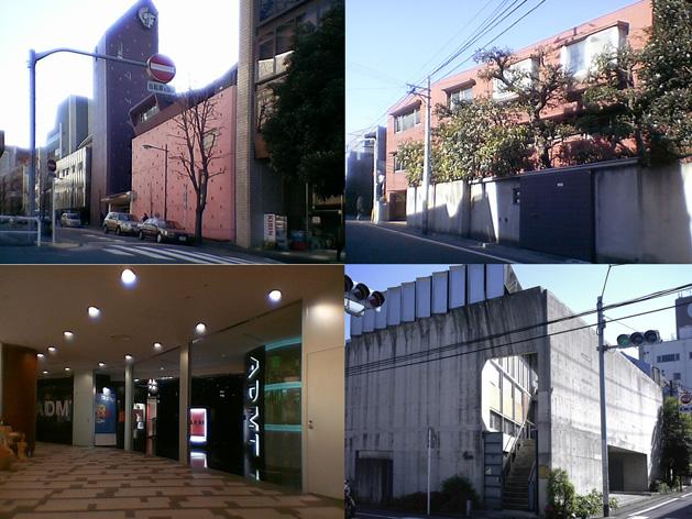 都内のギャラリー建築
