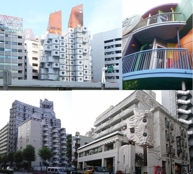 都内の集合住宅建築