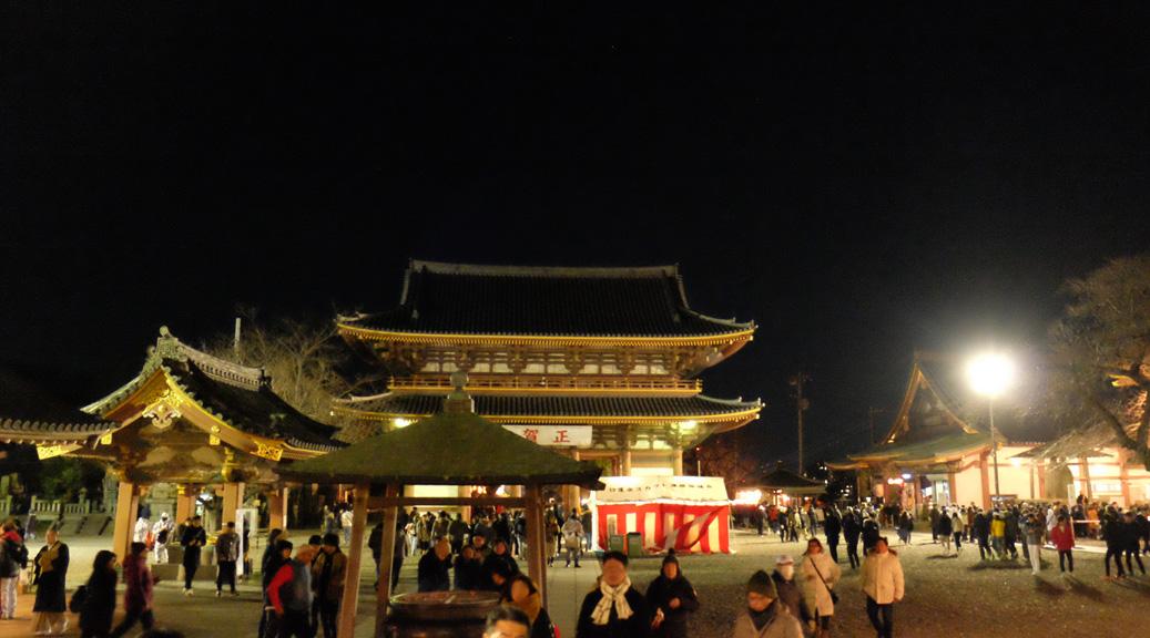 大晦日の池上本門寺