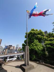 品川神社_富士塚