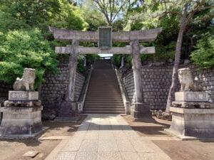 品川神社大鳥居