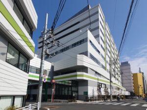 牧田総合病院外観