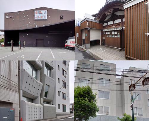 高円寺の有名建築
