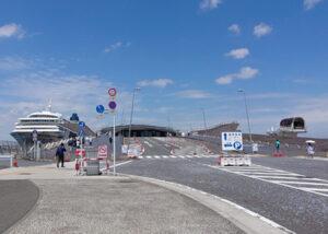 大さん橋国際客船ターミナルの入口