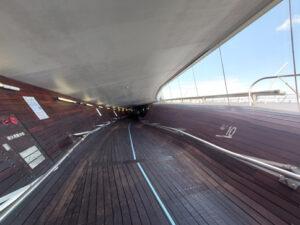 大さん橋国際客船ターミナルの内部