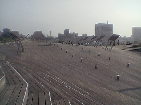 【横浜】大さん橋国際客船ターミナル3
