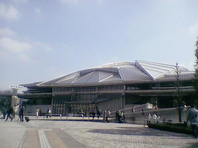 【東京千駄ヶ谷】東京体育館1